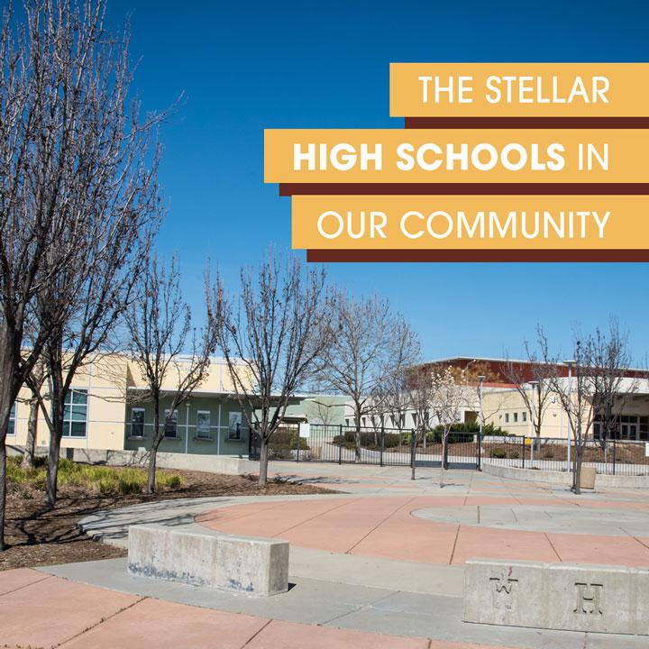 The Sellar High Schools in our community, Whitney Ranch CA